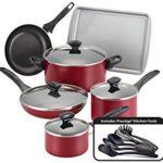 Farberware Dishwasher Safe Nonstick 15-Piece Cookware Set Only $37.13