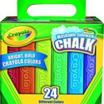 Crayola 24 Count Sidewalk Chalk Just $2.69