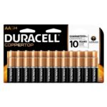 Pack of 24 Duracell Coppertop Alkaline AA Batteries Just $7.19