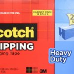 18 Rolls of Scotch Heavy Duty Packaging Tape Cabinet Pack Only $19.95!!