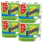 8 Huge Rolls of Bounty Select-a-Size Paper Towels For $14.15