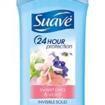 Suave Invisible Solid Anti Perspirant & Deodorant Sweet Pea & Violet Only $1.19 – $1.33 + Free Shipping!