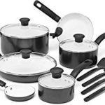 Today Only: T-fal Initiatives Nonstick Ceramic Coating Scratch Resistant and Oven Safe 14-Piece Cookware Set Only $40.59!