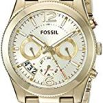 Fossil Women's Analog Display Analog Quartz Gold-Tone Watch For Just $77.50 Shipped