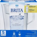 Brita 5 Cup Slim Water Pitcher with 1 Filter For Only $6.19