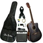 Glen Burton Acoustic Electric Cutaway Guitar For $139.88 Shipped