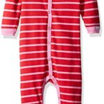 Coccoli Baby Girls' Double Knit Cotton Footie with Bow For As Low As $8.63!