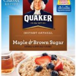 72 Packets of Quaker Instant Oatmeal Only $9.70 – $11.47 + Free Shipping!