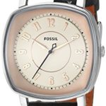 Fossil Visionist Women's Leather Watch For Only $66.14 Shipped