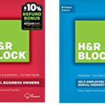 Save up to 58% off H&R Block 2016 Tax Software Today at Amazon