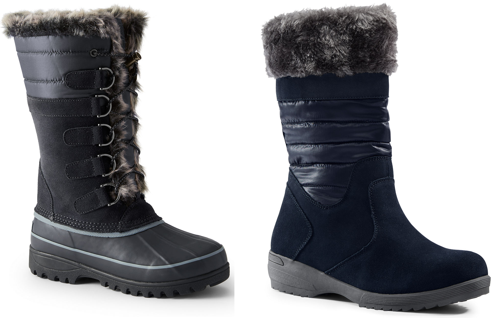 Find quality Women's Snow Boots at Lands' End. Keep your feet warm and dry with women's tall snow boots, all weather boots and pull-on snow boots.