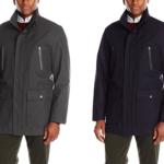 London Fog Men's Waterproof Breathable Wool Twill Coat For As Low As $21.94!