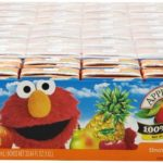 40 Apple & Eve Sesame Street Elmo's Punch Juice Boxes For $9.90