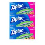 Ziploc Snack Bags, 270 Count For $5.81 – $6.70 + Free Shipping