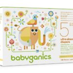 Amazon Prime Members: Get A Big Case of Babyganics Baby Diapers For Only $23.17 Shipped!