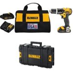 Today Only: DEWALT 20V MAX Lithium Ion Compact 1.5 Ah Hammer Drill/Driver Kit with ToughSystem Suitcase Just $149.99 Shipped