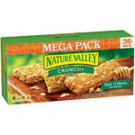 72 Nature Valley Oats 'n Honey Crunchy Granola Bars For Only $6.98!