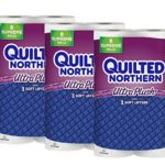 Quilted Northern Ultra Plush Toilet Paper, 24 Supreme (92+ Regular) Bath Tissue Rolls For $16.59 – $18.78 + Free Shipping