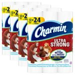 Charmin Ultra Strong Toilet Paper, Bath Tissue, Double Roll, 48 Count For $22.64