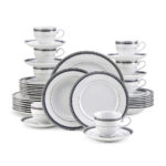 Mikasa Platinum Crown 40-Piece Dinnerware Sets For $159.99 w/ Free Shipping