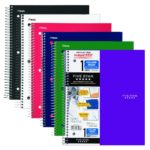 6-Pack of Five Star Spiral Notebooks For Just $14.04