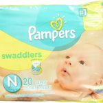 Pampers Swaddlers Newborn 240 Diapers Only $8.99!!