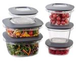 Rubbermaid Premier Food Storage Containers, 12-Piece Set For Just $14.77