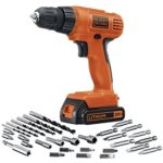 Today Only: Black & Decker 20-Volt MAX Lithium-Ion Drill/Driver with 30 Accessories For $41.99 Shipped!