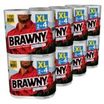 Today Only: 16 XL Rolls (32 Regular Rolls) Brawny Paper Towels For $18.48-$20.65 + Free Shipping
