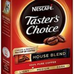 Nescafe Taster's Choice Instant Coffee, House Blend, 6 Count (Pack of 12) Just $8.40 – $9.60 + Free Shipping