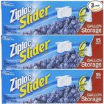 3 Packs of Ziploc Gallon Slider Storage Bags For $5.84-$6.53 + Free Shipping