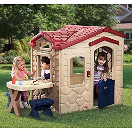 Little Tikes Picnic on the Patio Playhouse For Only 197 Or Less