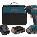 Bosch 18-Volt Lithium-Ion 1/4-Hex Impact Driver Kit with 2 Batteries Charger and Bag For Only $119 Shipped!