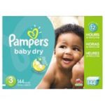 Case of Pampers Baby Dry Diapers Size 3 Only $16.99 Shipped For Amazon Family Members!