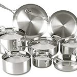 Lagostina Axia Tri-Ply Stainless Steel Dishwasher Safe Oven Safe 13-Piece Cookware Set Only $135.90 Shipped!