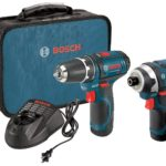 Bosch 12-Volt Lithium-Ion 2-Tool Combo Kit (Drill/Driver and Impact Driver) with 2 Batteries, Charger and Case Only $91.75!