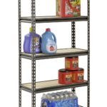 Muscle Rack Silver Vein Steel Storage Rack w/ 5 Adjustable Shelves and 4000 lb. Capacity For Just $33.88