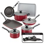 Farberware High Performance Nonstick Aluminum 17-Piece Cookware Set For Just $49.99 Shipped