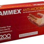 Box of 200 AMMEX Anti-Microbial, Powder Free Clear Vinyl Gloves Just $5.81 – $6.50 + Free Shipping
