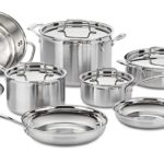 Cuisinart Multiclad Pro Stainless Steel 12-Piece Cookware Set Just $181.99 Shipped