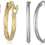 Today Only – Save Big On 10k, 14k and 18k Gold Hoop Earrings – From Only $21.42!