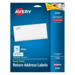 Box of 1500 Avery Easy Peel Return Address Labels for Inkjet Printers Just $6.94 + Free Shipping