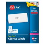 Box of 3000 Avery Easy Peel Address Labels for Laser Printers Only $14.73
