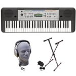 Yamaha 61-Key Keyboard Pack with Headphones, Power Supply, and Stand For Only $97 w/ Free Shipping!