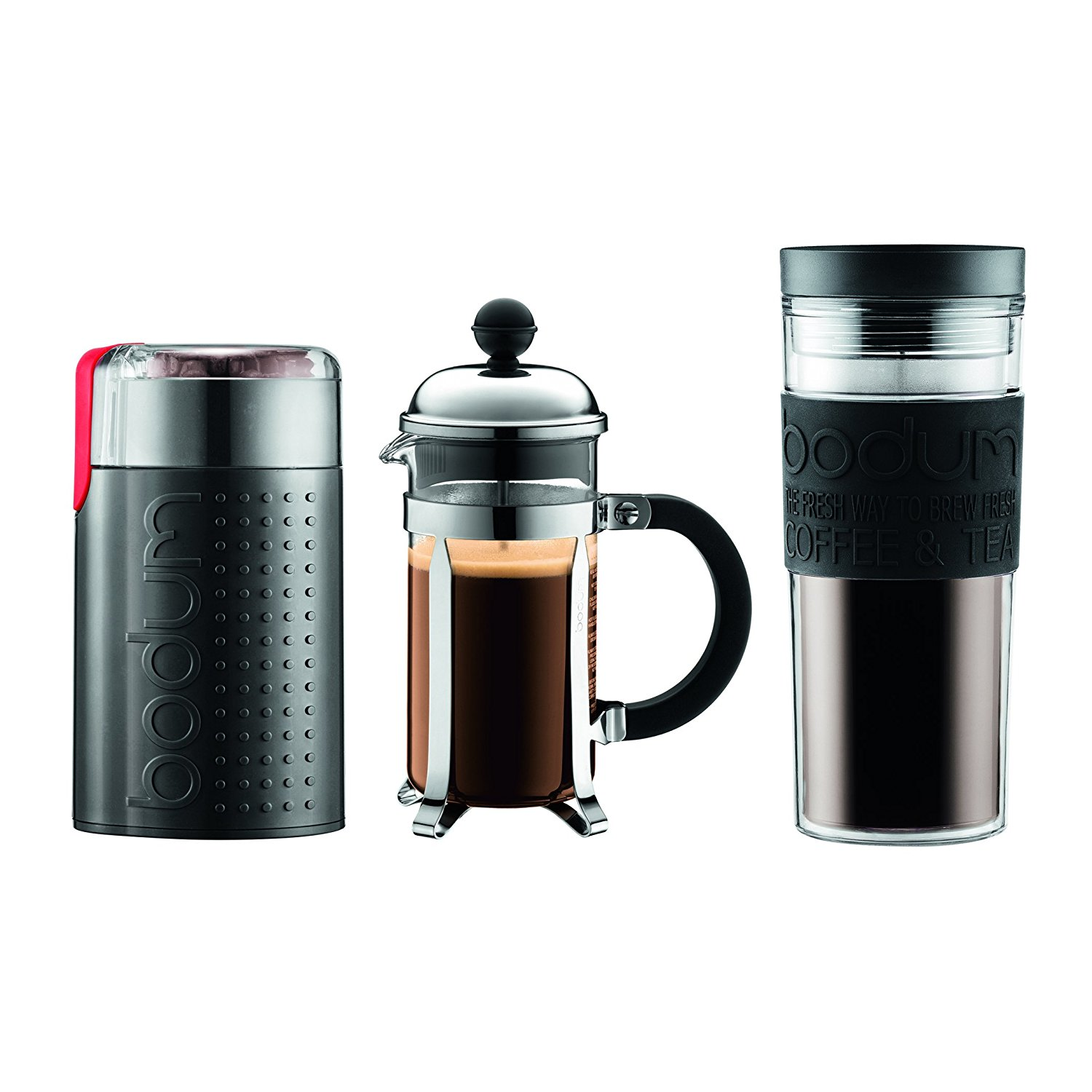 Plastic Free Coffee Maker Electric : Bodum 3-Pc. Grind, Boil, Brew Value Set For Just USD 39.93 at Macy s Hot Deals - DealsMaven.com