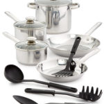 Bella 12-Pc. Stainless Steel Cookware Set Only $29.99 + Get $5 in Macy's Cash