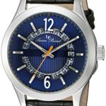Lucien Piccard Men's Oxford Analog Display Quartz Black Watch Only $29 Shipped!