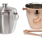 Oggi Stainless Steel Ice Bucket with Tongs, 3 L. or Godinger Copper Finish Ice Bucket & Tong Set $14.39-$16.64!