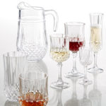 Get 2 Longchamp Cristal D'Arques Glass Sets For Only $15.98!