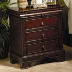 Coaster Nightstand Louis Philippe Style in Deep Mahogany Finish Only $99 Shipped!